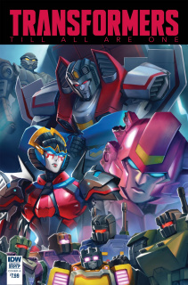 The Transformers: Till All Are One Annual 2017 (Pitre-Duroch Cover)
