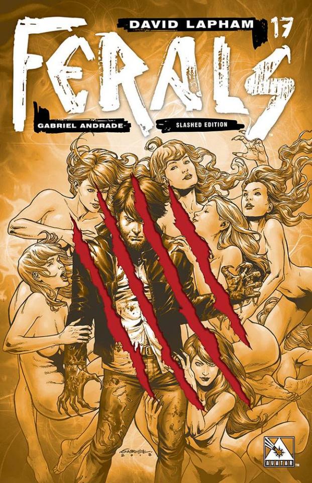 Ferals #17 (Slashed Cover)