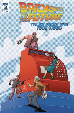 Back to the Future: Tales from the Time Train #4 (Levens Cover)