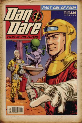 Dan Dare #1 (Retro Cover)