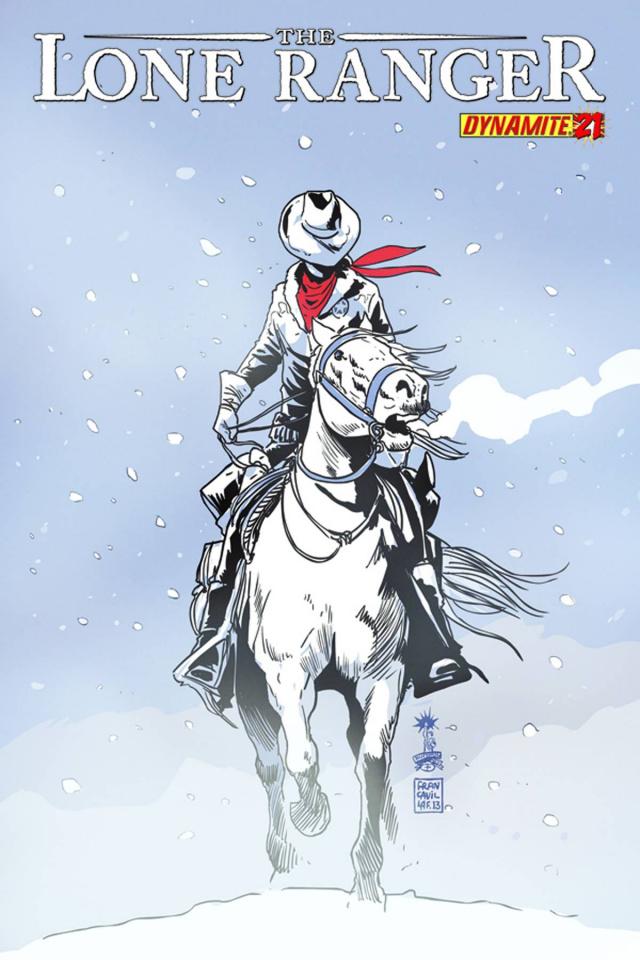 The Lone Ranger #21
