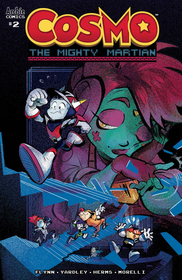 Cosmo: The Mighty Martian #2 (Skelly Cover)