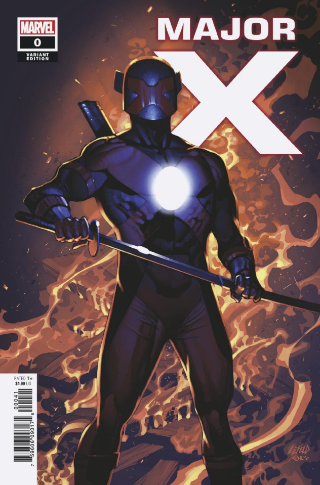 Major X #0 (Liefeld Cover)