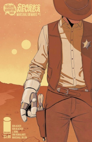 Sparks Nevada: Marshal on Mars #1 (McKelvie Cover)