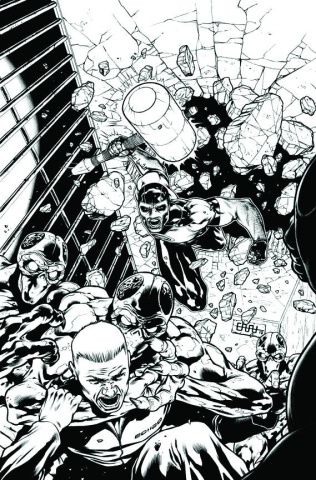 Green Lantern Corps #16 (Black & White Cover)