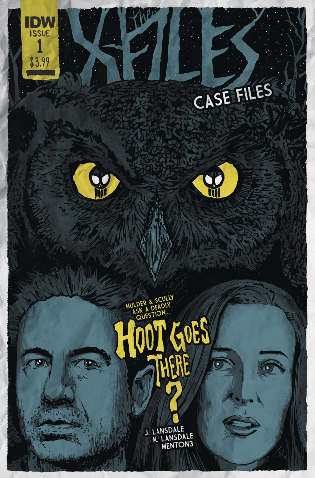 The X-Files Case Files: Hoot Goes There? #1 (Lendl Cover)