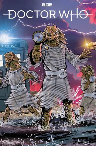 Doctor Who Comics #3 (Jones Cover)