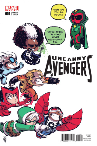 Uncanny Avengers #1 (Young Cover)