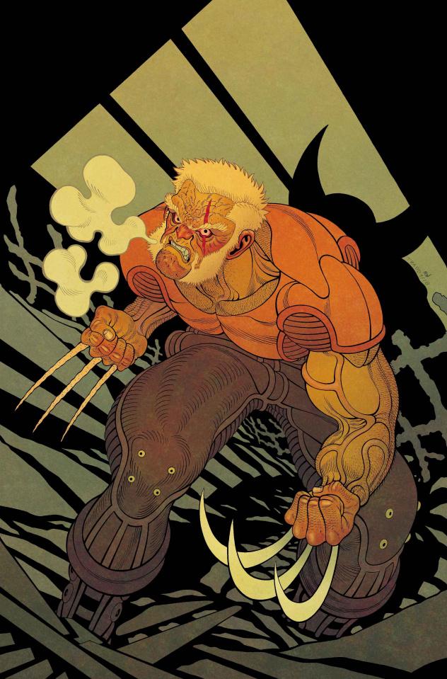 Dead Man Logan #1 (Moore Cover)