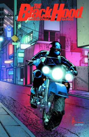 The Black Hood #2 (Chaykin Cover)
