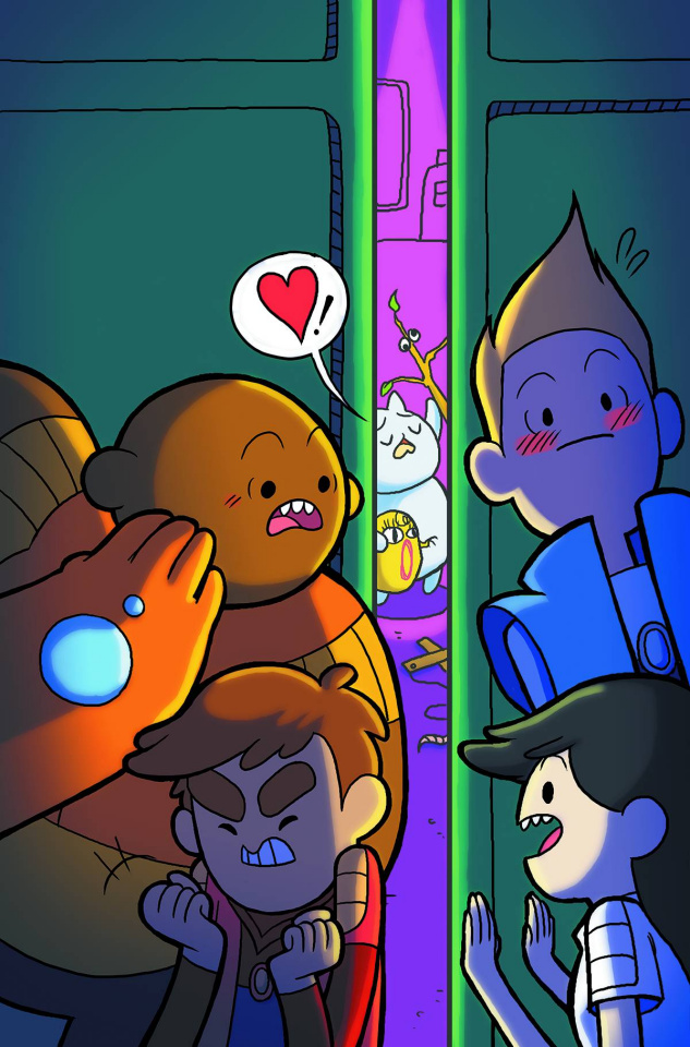 Bravest Warriors #34 (Subscription Noh Cover)