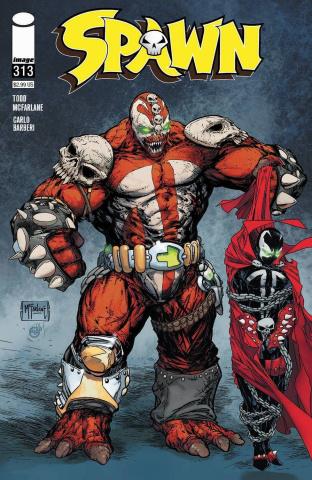 Spawn #313 (McFarlane Cover)