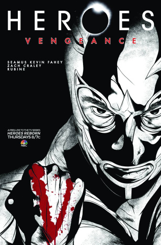 Heroes: Vengeance #2 (Subscription Cover)