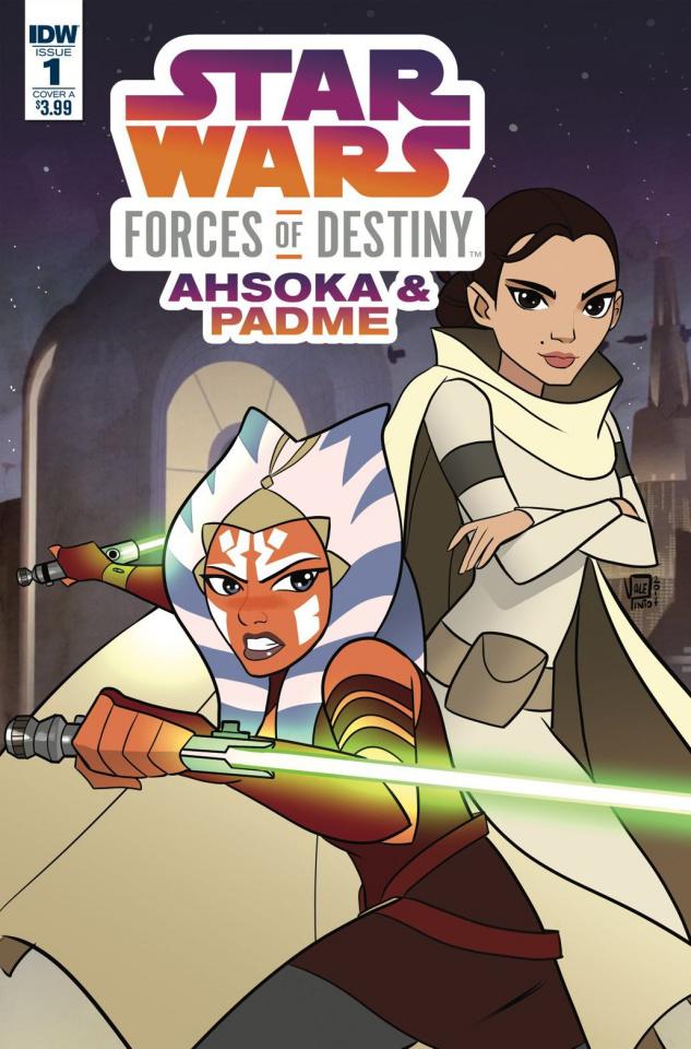 Star Wars Adventures: Forces of Destiny - Ahsoka & Padmé