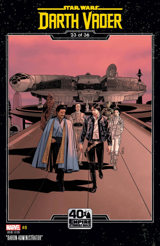 Star Wars: Darth Vader #8 (Sprouse Empire Strikes Back Cover)