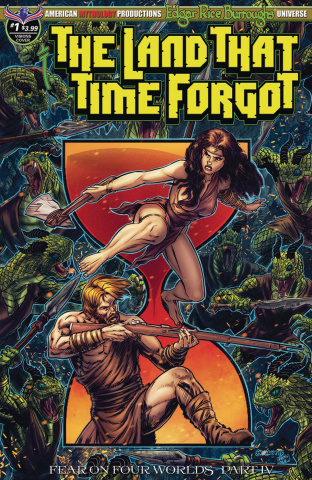 The Land That Time Forgot #1 (Fear On Four Worlds Timeless Cover)
