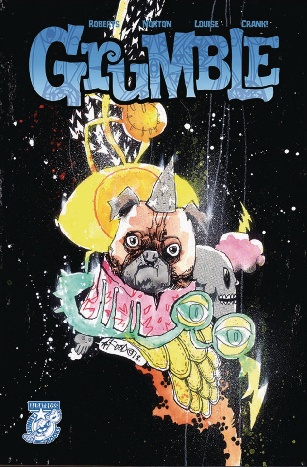 Grumble #4 (Jim Mahfood Cover)