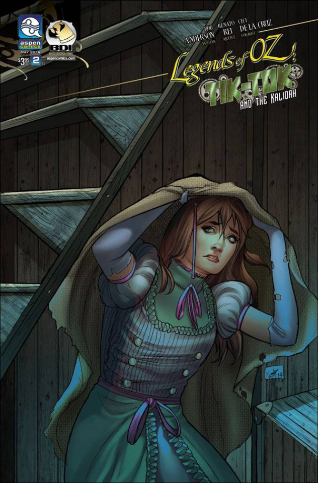 The Legends of Oz: Tik Tok and the Kalidah #2 (Ruffino Cover)