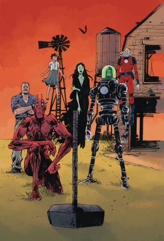 Black Hammer: Age of Doom #12 (Pope & Stewart Cover)
