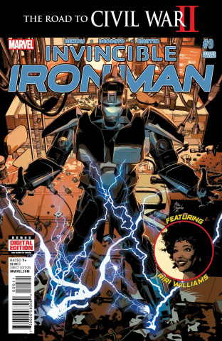 Invincible Iron Man #9 (Deodato 2nd Printing)