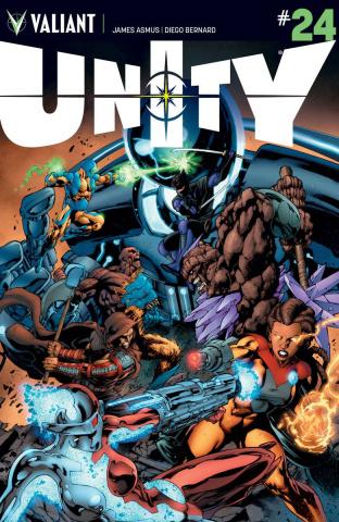 Unity #24 (Bernard Cover)