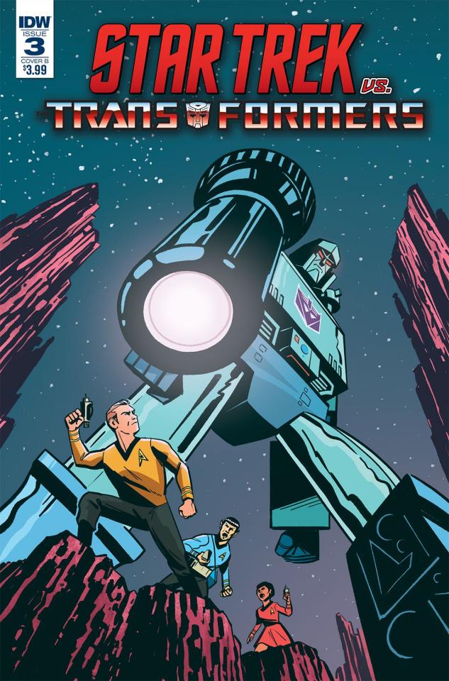 Star Trek vs. The Transformers #3 (Fullerton Cover)