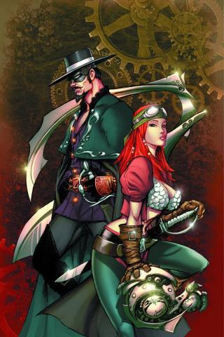Legenderry: A Steampunk Adventure #7 (Benitez Virgin Cover)