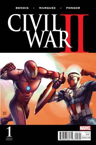 Civil War II #1 (McNiven Cover)