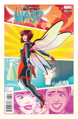 The Unstoppable Wasp #3 (Ganucheau Cover)