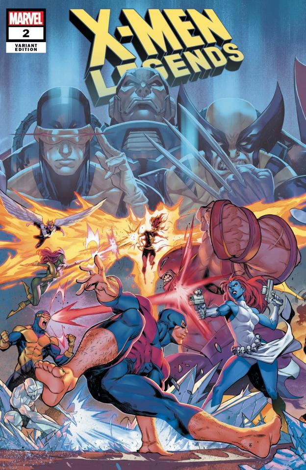 X-Men Legends #2 (Coello Connecting Cover)