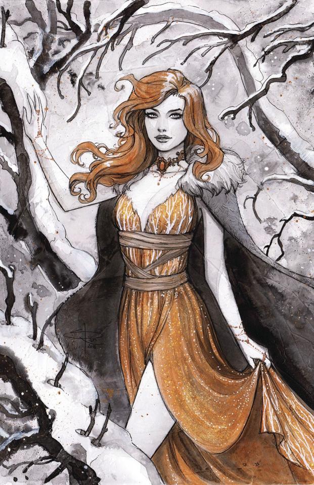 Ancient Dreams #8 (Winter Classics Cover)