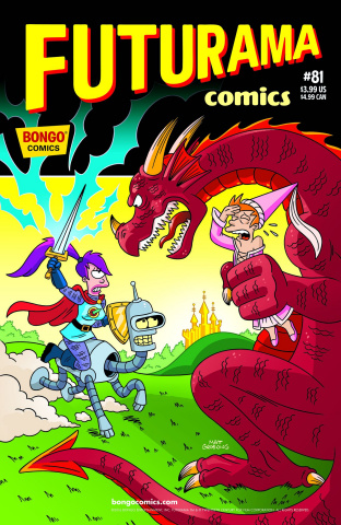 Futurama Comics #81