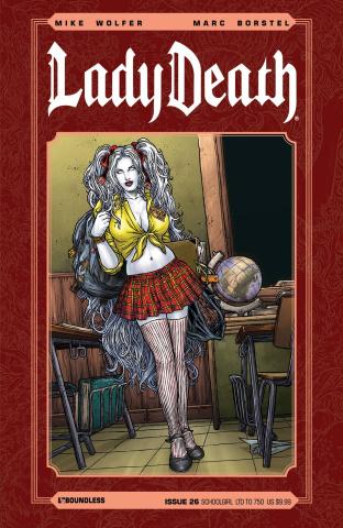 Lady Death #26 (Schoolgirl Cover)