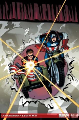 Captain America & Bucky #621