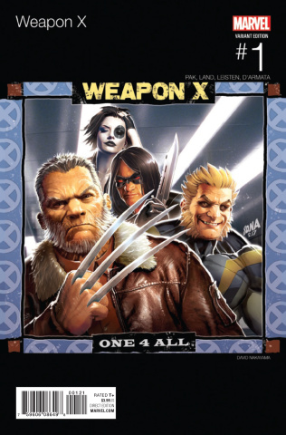 Weapon X #1 (Nakayama Hip Hop Cover)