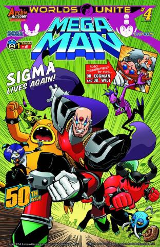 Mega Man #50 (Robinson Cover)