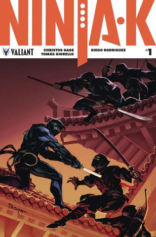 Ninja-K #1 (Troya Cover)