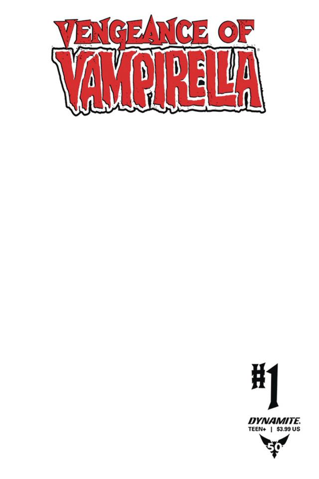 Vengeance of Vampirella #1 (Blank Authentix Cover)