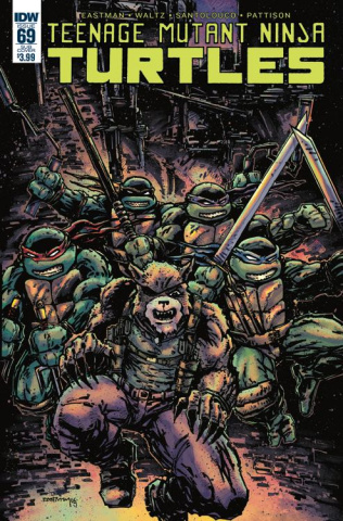Teenage Mutant Ninja Turtles #69 (Subscription Cover)
