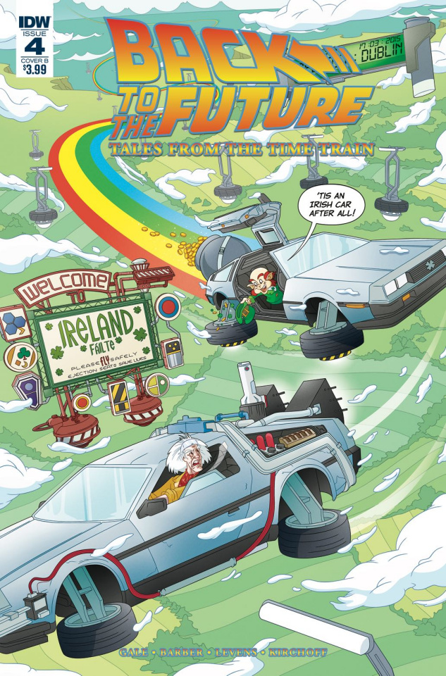 Back to the Future: Tales from the Time Train #4 (Murphy Cover)