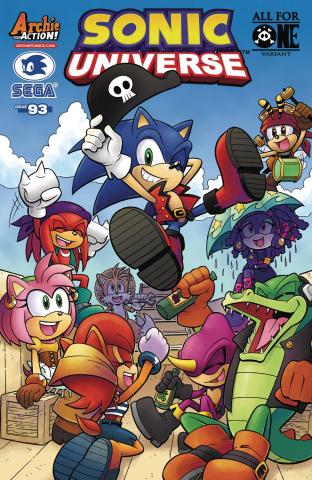 Sonic Universe #93 (Jennifer Hernandez Cover)