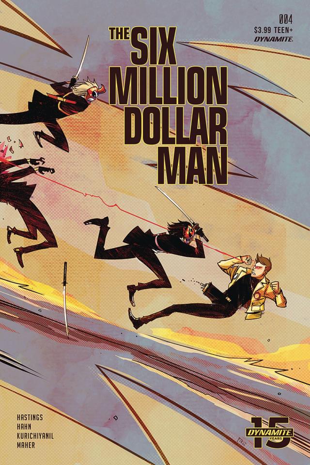 The Six Million Dollar Man #4 (Piriz Cover)