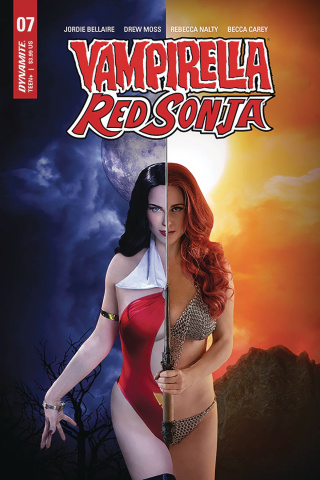 Vampirella / Red Sonja #7 (Kingston Cosplay Cover)