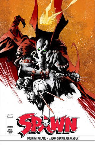 Spawn #305 (Alexander Cover)