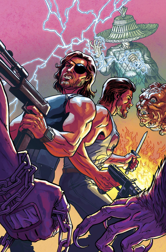 Big Trouble in Little China / Escape from New York #6 (Subscription Cover)