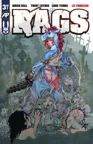 Rags #3 (Exposed Cover)
