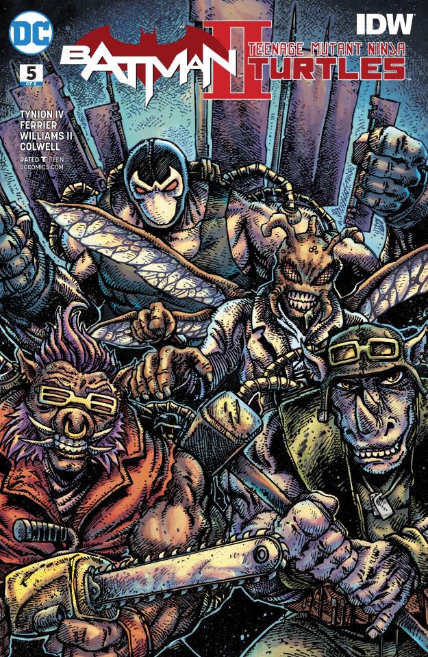 Batman / Teenage Mutant Ninja Turtles II #5 (Variant Cover)