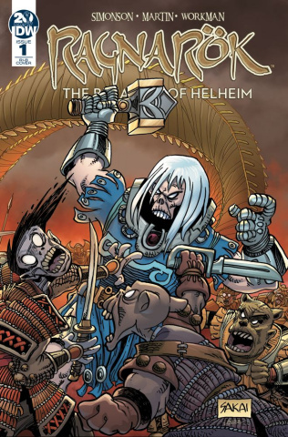 Ragnarök: The Breaking of Helheim #1 (25 Copy Sakai Cover)