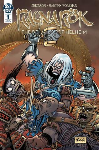 Ragnarök: The Breaking of Helheim #1 (25 Copy Sakai Cover)