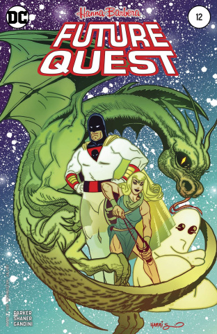 Future Quest #12 (Variant Cover)